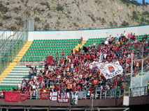 PALERMO, ITALIA - 9 novembre 2013 - Di Palermo degli Stati Uniti Citta contro Trapani Calcio - Serie B Fotografia Stock Libera da Diritti