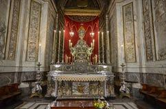 Palermo, Italia, Sicilia 24 agosto 2015 La cattedrale di Palermo Fotografie Stock Libere da Diritti
