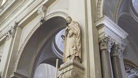 PALERMO ITALIEN - April, 2018: Palermo domkyrka materiel Domkyrkakyrka av Roman Catholic Archdiocese av Palermo lager videofilmer