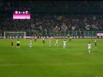 PALERMO ITALIEN - Augusti 23, 2013 - di Palermo för USA Citta vs det Genua freonet - Serie EN TIM Royaltyfria Bilder