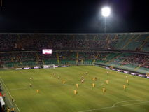 PALERMO ITALIEN - Augusti 17, 2013 - di Palermo för USA Citta vs Hellas Verona - TIM KOPP Royaltyfri Foto