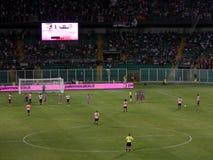 PALERMO ITALIEN - Augusti 11, 2013 - di Palermo för USA Citta vs USA Cremonese - TIM KOPP Royaltyfria Bilder