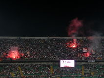 PALERMO ITALIEN - Augusti 11, 2013 - di Palermo för USA Citta vs USA Cremonese - TIM KOPP Royaltyfri Bild