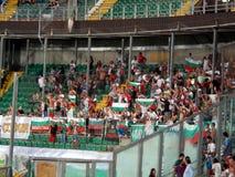 Palermo Italien - September 06, 2013 - Italien vs Bulgarien - FIFA bestämning för 2014 världscup Arkivfoton
