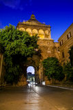 PALERMO, ITALY - October 13, 2009: view of the famous Royal Pala Royalty Free Stock Photography