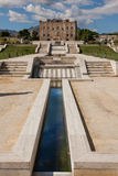 PALERMO, ITALY - October 14, 2009: The Zisa is a castle in Paler Royalty Free Stock Images