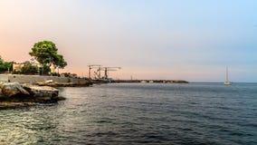 Palermo-Küstenlinie Lizenzfreie Stockfotos