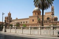 Palermo katedralny Sycylia Zdjęcia Stock
