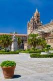 Palermo-Kathedrale Stockfotos