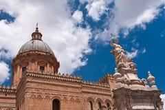 Palermo-Kathedrale Lizenzfreies Stockfoto