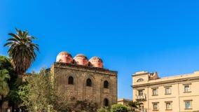 Palermo kościół Obrazy Royalty Free