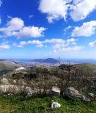 Palermo krajobraz Zdjęcie Royalty Free