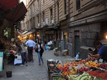 Palermo street market Stock Photos