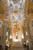 Palermo - Main nave of Romanic church San Cataldo Royalty Free Stock Photography