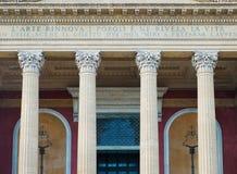 Palermo Massimo Theater Stock Photos