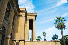 Palermo Massimo Theater Royalty Free Stock Image