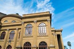 Palermo Massimo Theater Royalty Free Stock Photos