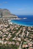 Palermo - Mondello Gulf Stock Images