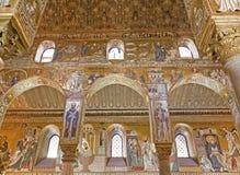 Palermo - Mosaic of Cappella Palatina - Palatine Chapel Royalty Free Stock Image