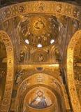 Palermo - Mosaic of Cappella Palatina Stock Image