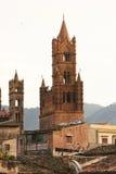 Palermo - opinión de la azotea Imagen de archivo