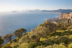 Free Palermo - Outlook Form Back Side Of Mt. Pelegrino To Bay Of Palermo Stock Images - 30915474