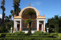 Palermo park - Villa Giulia Royalty Free Stock Photo