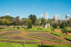 Palermo parkerar, Buenos Aires Arkivbild