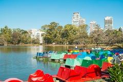 Palermo parkerar, Buenos Aires Royaltyfria Foton