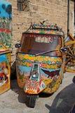 Palermo pomalowane motocykla zdjęcie royalty free