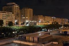 Palermo port stock photo