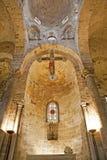 Palermo - Presbytery of Romanic church San Cataldo Stock Photography