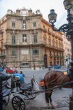 Palermo - Quatro canti corso Royalty Free Stock Images