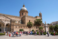 Palermo Roman Cathedral Imágenes de archivo libres de regalías