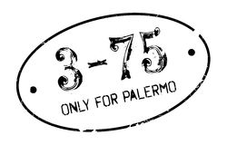 Only For Palermo rubber stamp Stock Photography