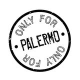 Only For Palermo rubber stamp Royalty Free Stock Photo