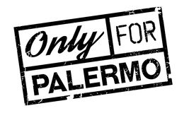 Only For Palermo rubber stamp Stock Image