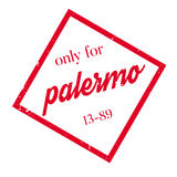 Only For Palermo rubber stamp Royalty Free Stock Image