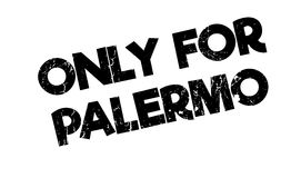 Only For Palermo rubber stamp Royalty Free Stock Images