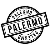 Palermo rubber stamp Royalty Free Stock Images