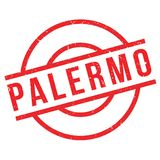 Palermo rubber stamp Stock Photos