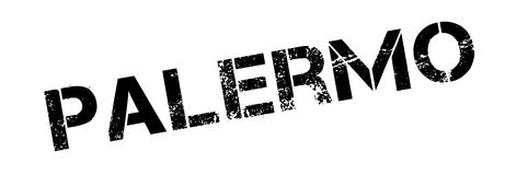 Palermo rubber stamp Royalty Free Stock Photography