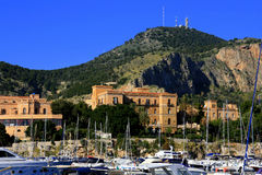 Free Palermo S Small Port & Liberty Building Stock Photos - 12479613