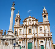 Palermo - San Domenico - Saint Dominic church Royalty Free Stock Photography