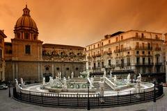Palermo Sicilië Royalty-vrije Stock Afbeelding