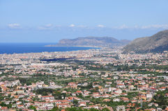 Palermo. Sicilia. Imagen de archivo libre de regalías