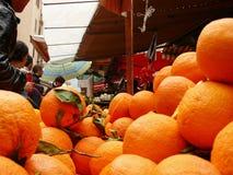 Palermo, Sicilia, Italia 11/04/2010 Mercato di Vucciria fotografia stock libera da diritti