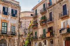 Free Palermo,Sicilia, Italy: Street View Of The Old Buildings Stock Photo - 142806830