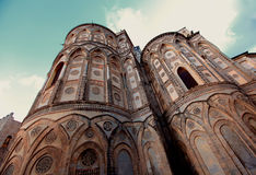 Palermo, Sicily. Cathedral of Monreale in Palermo, Sicily Stock Image