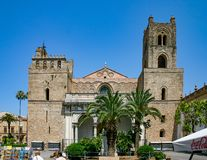 Palermo, Sicily / Italy: June 25, 2005: The Cathedral of Monreale stock images